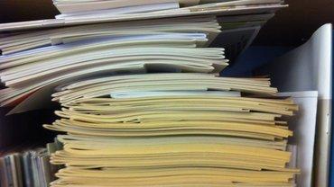 Stapel-Broschüren