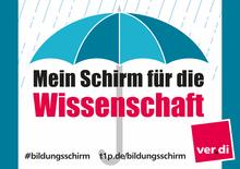 Dein Schirm für die Wissenschaft!