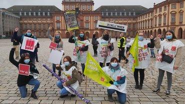 Unsere Jugend Heilbronn-Neckar-Franken war in Mannheim auf dem Jugendstreiktag dabei