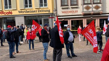 Der 01. Mai in Wertheim am Main