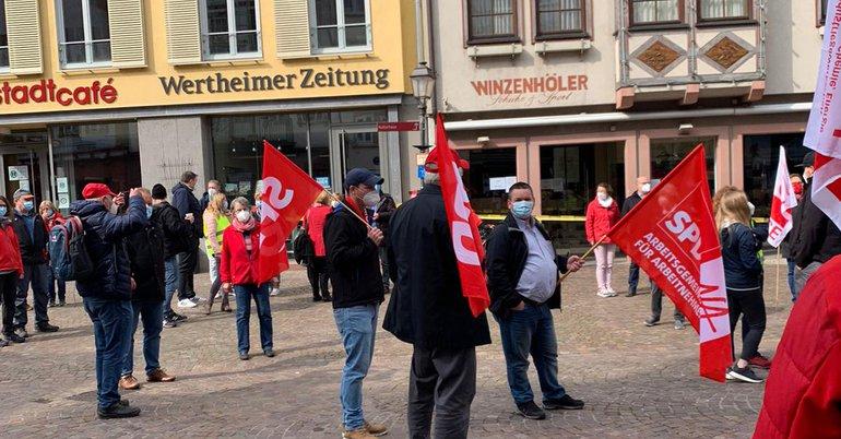 Der 01. Mai in Wertheim am Main